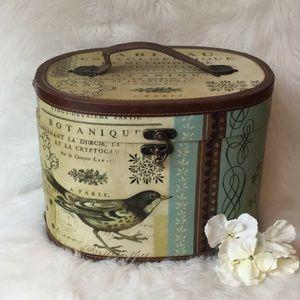 Bird Motif Storage Box